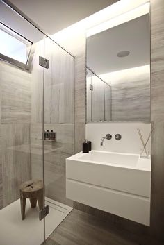 Brownish bathroom idea