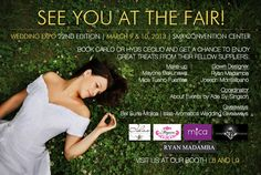 See you at the Wedding Expo!
