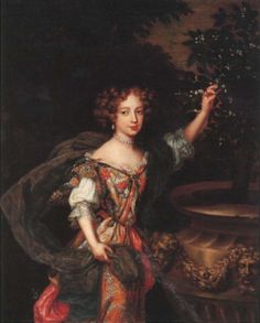 ca. 1678 Elizabeth Percy, later Duchess of Somerset by Henri Gascar (location unknown to gogm) | Grand Ladies | gogm