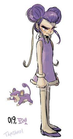 O ilustrador sul-coreano Tamtamdi imaginou como seriam se os Pokémons fossem seres-humanos. Confira suas divertidas ilustrações!
