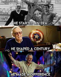 RIP Stan Lee your my hero excelsior Avengers Humor, Marvel Avengers, Marvel Comics, Marvel Jokes, Captain Marvel, Marvel Girls, Funny Marvel Memes, Dc Memes, Marvel Heroes