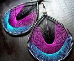 HOW DO YOU MAKE THREAD WOVEN EARRINGS (Q&A, tutorials and videos @ end) #jewelry