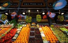 Chamartin Market - one of the biggest in Madrid Address: Bolivia 9, Chamartín Metro: Colombia