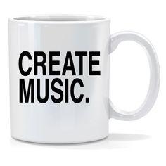 Tazza personalizzata Create music