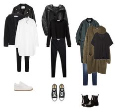 """""""3 days in a row"""" by lola-anne ❤ liked on Polyvore featuring MANGO, Dolce&Gabbana, Acne Studios, NIKE, Converse, Hunter, H&M, Zara, adidas and Tomas Maier"""