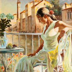 Fedosenko Roman, 1970  Impressionist painter