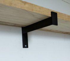 10 Industrial Heavy Duty Shelf Brackets. Metal Angle by DVAMetal