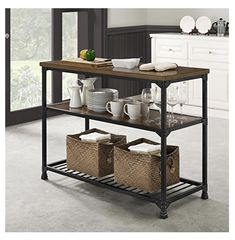 https://smile.amazon.com/dp/B075LWFH8C/ref=sspa_dk_detail_1?psc=1  Matches LR furniture.   Dorel Living DL7847 Cassy Multifunction Island, Rustic Antique Oak/Black
