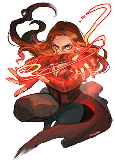 MCU Scarlet Witch - Kade Art