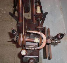 Vintage Antique Spinning Wheel Norwegian 1814 RARE and Beautiful | eBay