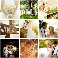 I adore everything about this wedding.