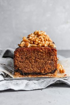 This fig cake is loaded with molasses, spices, and fig paste, it is the perfect soft and tender companion to a crumbly and buttery oat crust. And in addition, to bring it all to a perfect harmony are some walnuts in honey syrup. Fig Recipes, Best Dessert Recipes, Baking Recipes, Cake Recipes, Dessert Ideas, Molasses Cake, Molasses Recipes, Easy No Bake Desserts, Fun Desserts
