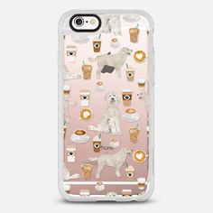 Golden Doodle coffee latte clear case for new iphone coffee lover gifts for doodle owners must have -