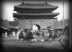 100년전 한국10, 1900년숭레문 전경