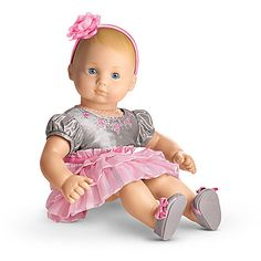 Twirly Tiered Dress for Dolls