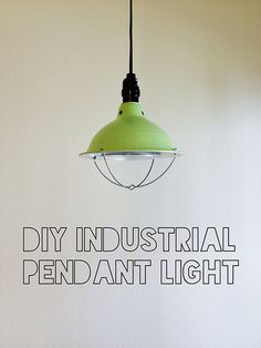 London Like the City diy industrial light