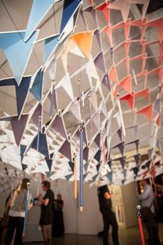 A seriously labour-intensive installation wowed the masses at Designday HQ this year. Four Two, Table Lamp, Inspired, Paper, Inspiration, Design, Home Decor, Biblical Inspiration, Table Lamps