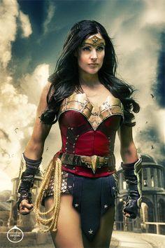 Rileah killing it as Wonder Woman. Everyone should watch this video