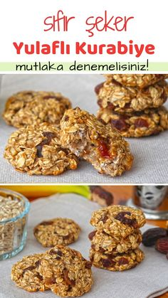 Oatmeal Diet Cookies (with video) - Yummy Recipes Oatmeal Diet . - Oatmeal Diet Cookie (with video) – Delicious Recipes How to make Oatmeal Diet Cookie (with video) - Quick Dessert Recipes, Easy Cookie Recipes, Yummy Recipes, Yummy Food, Oatmeal Recipes, Dessert Healthy, Healthy Cake, Diet Recipes, Cake Recipes