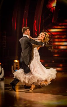 Aljaz Skorjanec and Abbey Clancy - Strictly Come Dancing 2013 - Week 11 Quarter Finals