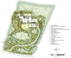 Traditional Site And Landscape Plan by Jeffrey Carbo Landscape Architects