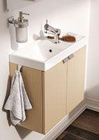 muebles de baño b-box de Bath+, para aprovechar el espacio con una estética ordenada Este modelo es especial para espacios reducidos, con una profundidad de 24cm. http://www.sanchezpla.es/muebles-de-bano-b-box-de-bath/
