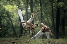 Bending the laws of gravity: 20 breathtaking and artistic martial arts action photos
