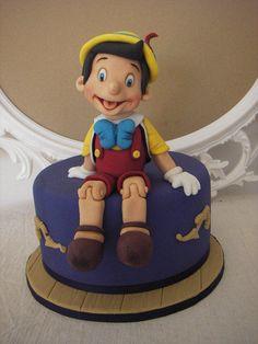 Pinocchio - Cake by Bolotopia