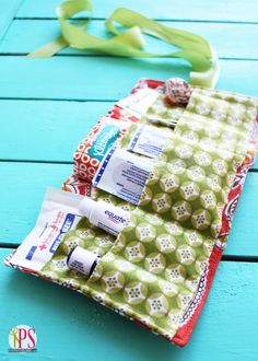 Create this cute DIY first aid kit for all those boo-boos.