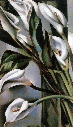 Tamara de Lempicka:Arums (1) 1931