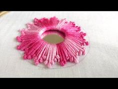 hand embroidery stitches tutorial step by step Hand Embroidery Videos, Embroidery Stitches Tutorial, Embroidery Flowers Pattern, Embroidery Works, Learn Embroidery, Embroidery Fabric, Hand Embroidery Designs, Beaded Embroidery, Embroidery Ideas