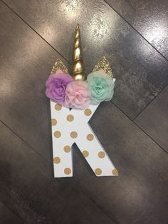 Excited to share this item from my shop: Unicorn letter prop, unicorn party decor, any letter, any colors, customizable Diy Unicorn Birthday Party, Birthday Party Games, First Birthday Parties, Birthday Party Decorations, 5th Birthday, Birthday Ideas, My Little Pony Party, Diy Party Crafts, Craft Party