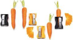Stanchi dei soliti utensili da cucina? Ecco il 'temperacarote'