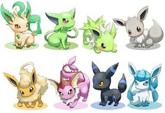 pokemon shiny eevee evolutions - Google Search