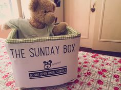 Hate picking up after your kids? Use the Sunday Box, a clever technique to encourage responsible kids to take care of their things.