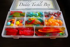 Let Your Scribbles Be....Enough: Nerdy father's day gift: Edible tackle box
