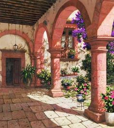 Paisajes Antiguos Coloniales deMéxico Arte en Pinturas al Óleo de Paisajes Coloniales Pinturas de Paisajes Coloniales Pintor Francisco A...