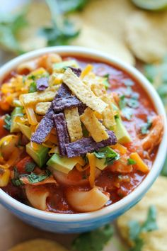 Chicken Tortilla Soup | 18 One-Pot Dinners You Can Make In A Dutch Oven
