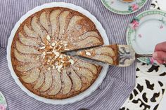 A lovely moist and wholesome cake, perfect for afternoon tea - made without eggs, dairy or refined sugar.