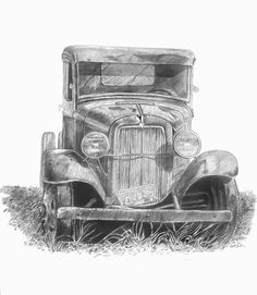 Old Truck Drawings images