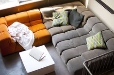 Tufty Time Sofa designed by Patricia Urquiola. Purchased at B&B Italia in San Francisco less than four years ago. High-end piece, an investment. Very comfortable, very functional, very stylish....