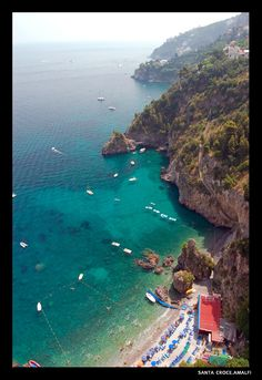 Santa Croce, Amalfi Coast, Italy   - Explore the World with Travel Nerd Nici, one Country at a Time. http://TravelNerdNici.com