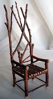 sillas como nacidas en la naturaleza...el ingnio del hombre...