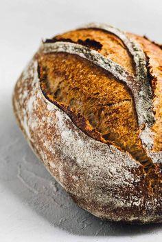 Rye Bread Recipes, Sandwich Bread Recipes, Sourdough Recipes, Sourdough Rye Bread, Best Oven, How To Make Bread, Bread Making, Oven Baked, Recipes