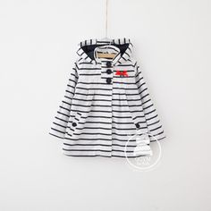 Autumn children's clothing female child classic stripe all-match trench outerwear high quality arbutrus US $40.45