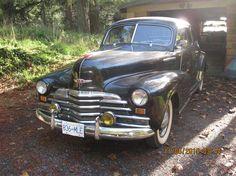 1947 Chevrolet Fleetline Coupe