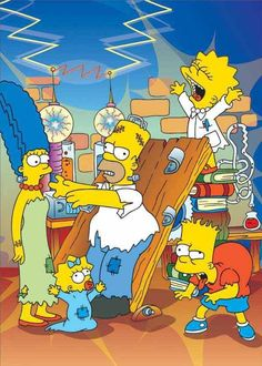 Simpsons Frankenstein