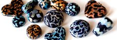 Polymer Clay Crackled Inlay Tutorial