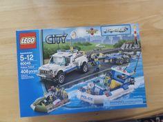Lego 60045 CITY Police Patrol Minifigs(3) New Sealed
