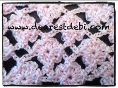 ▶ Crochet Flower Lattice Stitch - YouTube